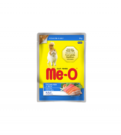 MeO Cat Pouch - Ocean Fish...